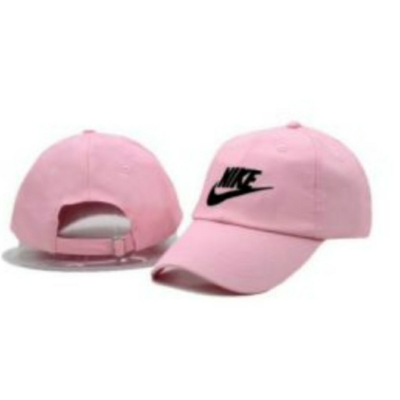 WOMENS EXCLUSIVE PINK NIKE ADJUSTABLE DAD CAP 88ddf2c5013b